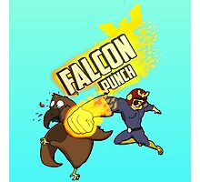 FALCON PUNCH! Photographic Print