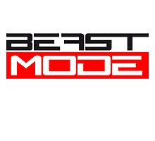 Cool Beast Mode Text Logo by Style-O-Mat