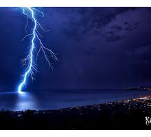 SPRING LIGHTNING OVER PORT PHILLIP by Yanni