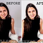 PORTRAIT 1 Before/After Airbrushing by Shevaun Steffens