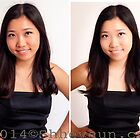 PORTRAIT 2 Before/After Airbrushing by Shevaun Steffens
