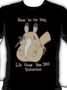 Grampy Pikachu T-Shirt