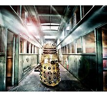 Dalek -  in the hallway. by Yanni