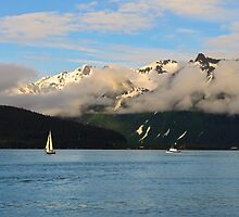 Sailing Alaska by raymona pooler
