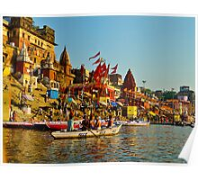 Varanasi city India  Poster