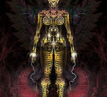 Fractal GOD - Angel by Alienjedna