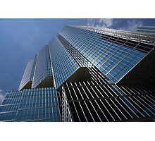 Silver Lines to the Sky - Downtown Toronto Skyscraper Photographic Print