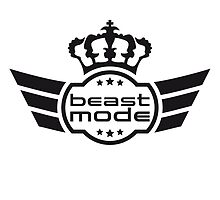 Beast Mode Blazon by Style-O-Mat