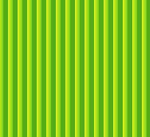 Green Candy Stripes				 by ColorPalette