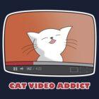 CAT VIDEO ADDICT by revnandi