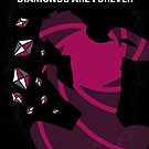 No277-007 My Diamonds Are Forever minimal movie poster by Chungkong