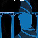 No277-007-2 My Skyfall minimal movie poster by Chungkong