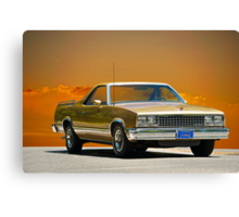 1982 Chevrolet El Camino Canvas Print