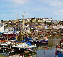 Boats at Mevagissey, Cornwall by SaraHardman