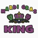 Mardi Gras King by HolidayT-Shirts