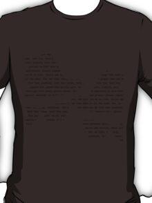 Blues Brothers lyrics T-Shirt