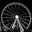 Big Wheel Lit Up by Vicki Spindler (VHS Photography)