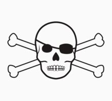 pirate skull and crossbones by maydaze