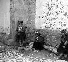 Inca Ladies At Church by GoArtistGo