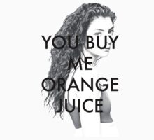 You Buy Me Orange Juice by targaryens