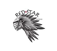 Red Star Headress Case by Red Star Lacrosse