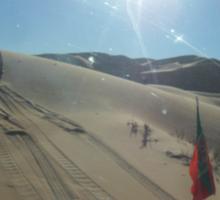 Atlas 2Travel Desert Caravan Tshirt Sticker