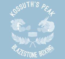 Kossuth Peak Blazestone Boxing Kids Clothes