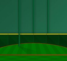 Minimalist Minute Maid Park - Houston (no text) by pootpoot