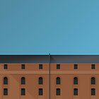 Minimalist Camden Yards - Baltimore (no text) by pootpoot
