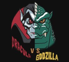 Dracula vs Zilla by monsterfink