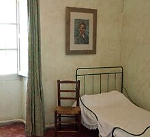 Van Gogh's room at Saint-Paul Asylum, Saint-Rémy by milyon