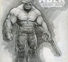 Hip Hop Hulk by Jonny Popovich