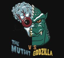 Mutant vs Zilla by monsterfink