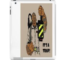 Ackbar Ghostbusters Spoof iPad Case/Skin