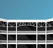 Minimalist Rangers Ballpark - Arlington (no text) by pootpoot