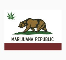 California Marijuana Republic by crazytees