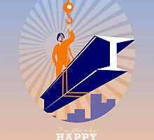 To our fellow workers Happy Labor Day Poster by patrimonio