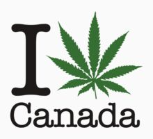 I Marijuana Canada by crazytees