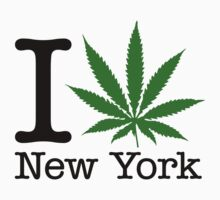 I Marijuana New York by crazytees
