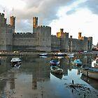 Caernarfon - Wales by Arie Koene