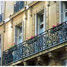 Window Terraces, Paris by Claire McCall
