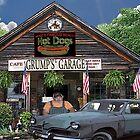 Grump's Garage and Cafe by Mike Pesseackey (crimsontideguy)