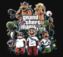 Grand Theft Mario by Fuacka