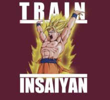 Train insaiyan - Goku wounded spirit bomb by Ali Gokalp