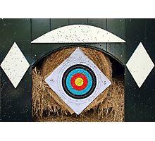 Archery statistics Photographic Print
