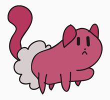 Pink Kitten Mitten by SaradaBoru