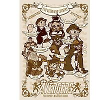 Lil steampunk Avengers Photographic Print