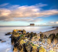 Bembridge Beach by manateevoyager