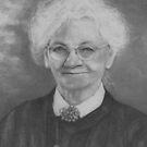 Kansas Farm Wife, circa 1920's by Pam Humbargar