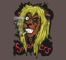 Smokers - the lion  by blackS